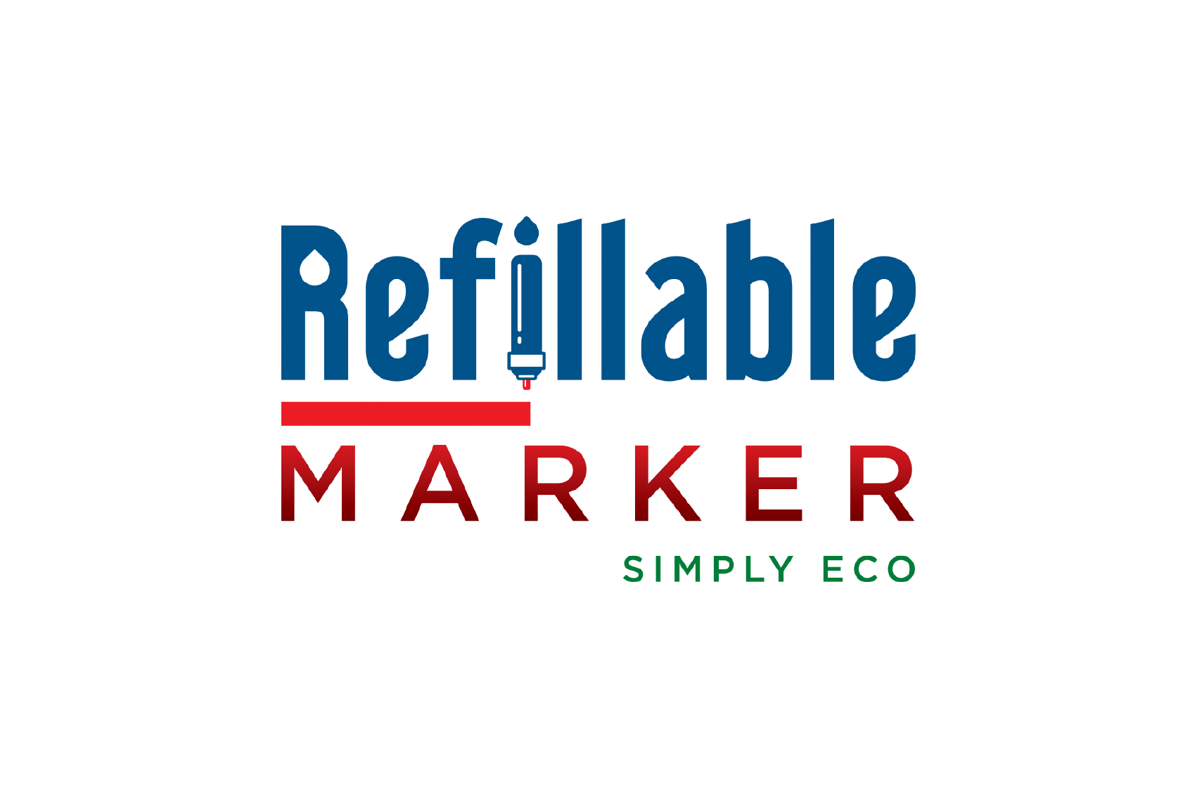 Refillable Marker by Flexspace
