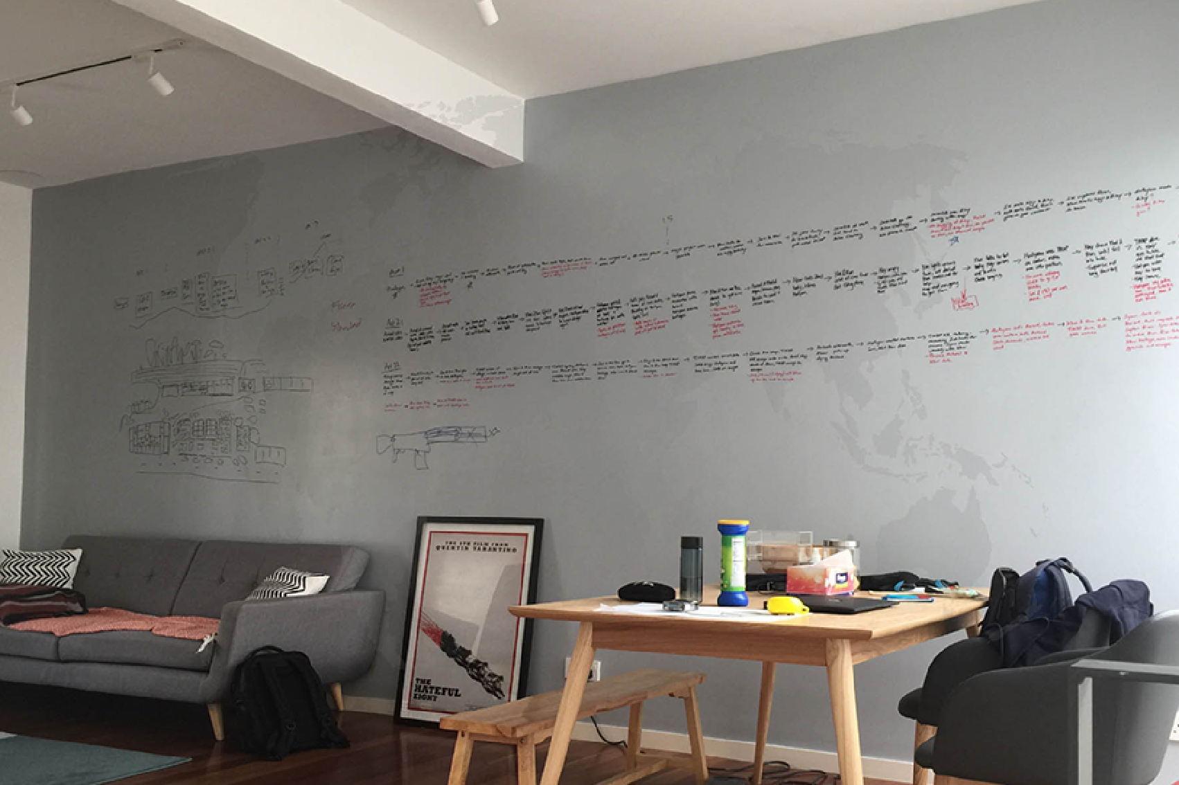 Whiteboard Paint by Candy Paint Asia